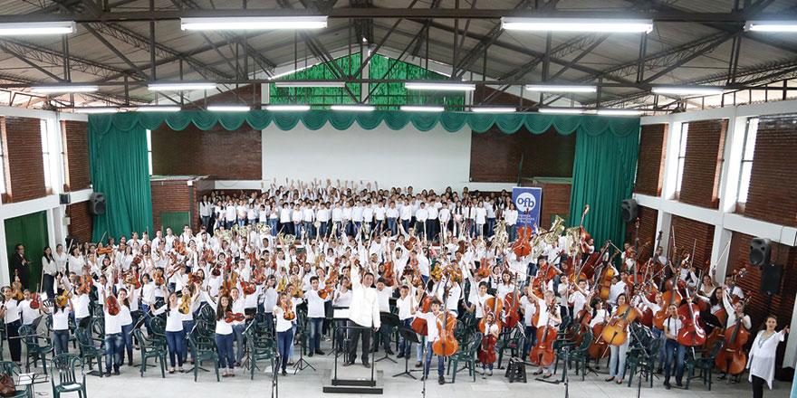 Orquesta Filarmónica Infantil OFB