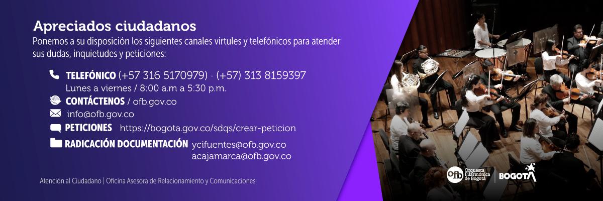 Atención virtual y telefónica