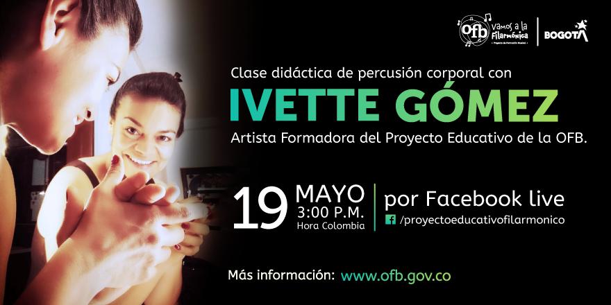 Clase Didáctica de percusión Ivette Gómez