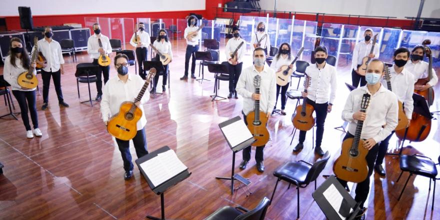 Filarmónica de música colombiana